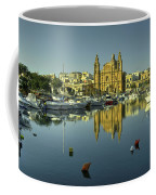 Valletta Reflected  Coffee Mug