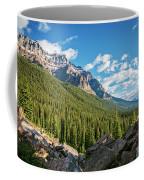 Valley Near Moraine Lake Banff Coffee Mug