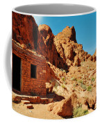 Valley Of Fire Cabin Coffee Mug
