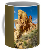 Valley Of Fire - Face In The Rock Coffee Mug