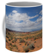 Valley Of Fire Horizon Coffee Mug