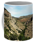 Valley View Of Whitesands Coffee Mug