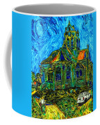 Van Goes To Auvers Coffee Mug