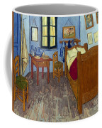 Van Gogh: Bedroom, 1889 Coffee Mug