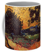 Van Gogh: Castle, 1890 Coffee Mug