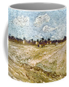 Van Gogh: Fields, 1888 Coffee Mug