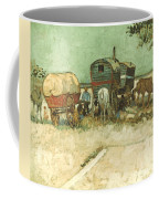 Van Gogh: Gypsies, 1888 Coffee Mug