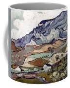 Van Gogh: Landscape, 1890 Coffee Mug