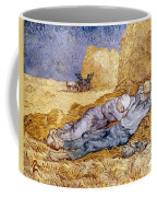 Van Gogh: Noon Nap, 1889-90 Coffee Mug