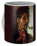 Van Gogh: Peasant, 1884 Coffee Mug