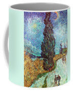 Van Gogh: Road, 1890 Coffee Mug