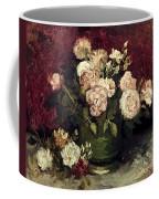 Van Gogh: Roses, 1886 Coffee Mug