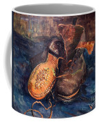 Van Gogh: The Shoes, 1887 Coffee Mug