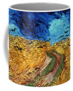 Van Gogh: Wheatfield, 1890 Coffee Mug