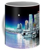 Vancouver Harbor Moonrise  Coffee Mug