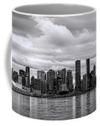 Vancouver In Black And White. Coffee Mug