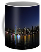 Vancouver Night Lights Coffee Mug