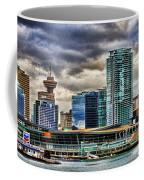 Vancouver Skyline Hdr Coffee Mug