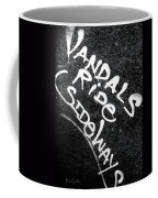 Vandals Ride Sideways Coffee Mug