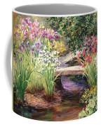 Vandusen Garden Iris Bridge Coffee Mug