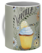 Vanilla Lemon Cupcake Coffee Mug