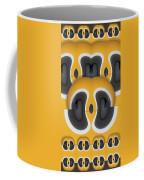 Variation In Orange Coffee Mug