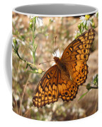 Variegated Fritillary Coffee Mug