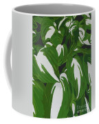 Variegated Hostas Coffee Mug