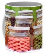 Various Cookies In Glass Jars Coffee Mug