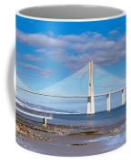 Vasco Da Gama Bridge Coffee Mug