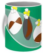 Vase And Flowers Coffee Mug