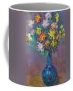 Vase Of Chrysanthemums Coffee Mug
