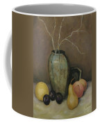 Vase With Fruit Coffee Mug
