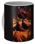 Vasquez Rocks And Stars Coffee Mug