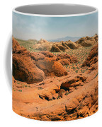Vast Desert Valley Of Fire Coffee Mug