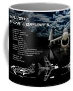 Vaught A-7a Corsair II Coffee Mug