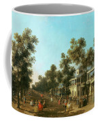 Vauxhall Gardens The Grand Walk Coffee Mug