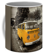 Vdub In Orange  Coffee Mug