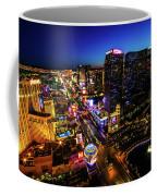 Vegas At Dusk Coffee Mug
