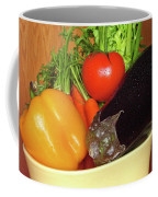 Vegetable Bowl Coffee Mug