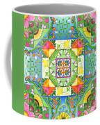 Vegetable Patchwork Coffee Mug