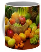 Vegetables And Fruits  Coffee Mug