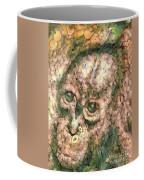 Vegged Out Monkey Coffee Mug