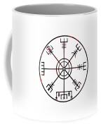 Vegvisir Icelandic Stave Coffee Mug