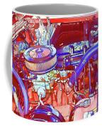 Vehicle Engine Close Up Coffee Mug
