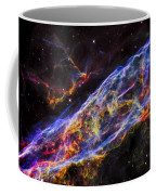 Veil Nebula - Rainbow Supernova  Coffee Mug