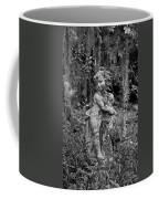 Veil Of Vines Black And White Coffee Mug
