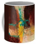 Vein Turquoise Coffee Mug