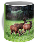 Velvet Antlers In The Sunset Coffee Mug