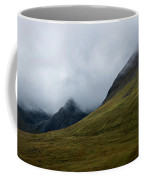 Velvet Hills In The Mist Coffee Mug